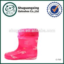 дождь сапоги обуви для детей, дождя сапоги фабрика зимние/C-705
