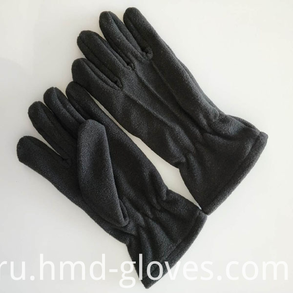 Warm fleece gloves