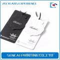 Sencai custom garment hang paper tags