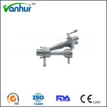 Accessoires de cystescopie urétrale Pont endoscope pour deux pinces (double voie)