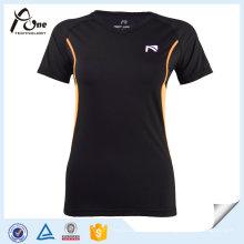Mujeres Spandex Nylon Camiseta Fitness Wear