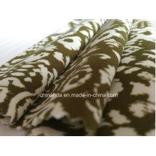 Tecido de impressão marrom para roupas esportivas (HD1401104)