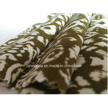 Коричневый печать ткань для спортивной одежды (HD1401104)