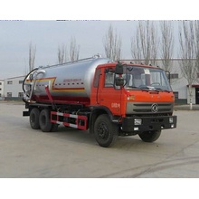 Dongfeng 4x2 20T sewage vacuum pump suction truck
