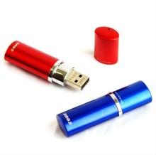 रंगीन धातु बेलनाकार USB फ्लैश ड्राइव