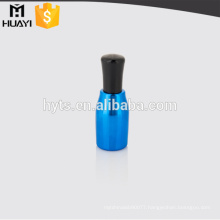 empty uv process nail gel polish bottle with cap and brush