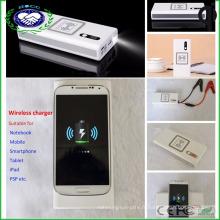 Portable Multi-Function Mobile Ultra Battery Power Bank Démarreur de démarrage de voiture avec chargeur sans fil Utilisation