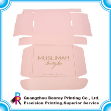 Bunte Druckkraftpapierverpackungskästen für Kleid mit Bandgriff