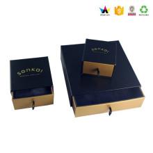Ropa de diseño plano popular Embalaje caja de regalo de papel plegable