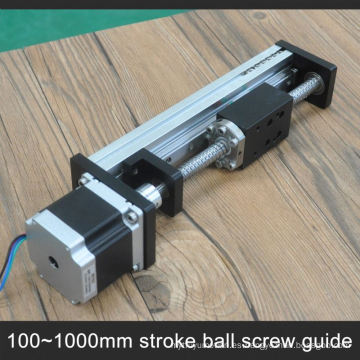Low cost linear rail for one axis drive