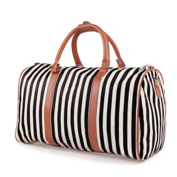 Damen-Streifen-Taschen-Gepäck-Duffle-Tasche der neuen Frauen