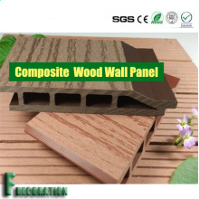 Panel de pared impermeable compuesto WPC madera duradero