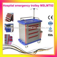 MSLMT02M 5 Schichten Krankenhauswagen / Trolley mit Rädern. Mehr Krankenhausmöbel für Sie zu wählen!