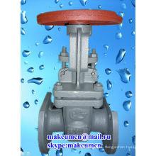 Latvia Z41H-16C russian standard GOST PN50-PN200 Stainless stell Oil pipeline Gate valve