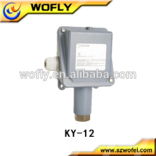 Electronic gas low air pressure switch