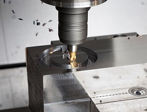 CNC milling for plastic bicycle helmet mould