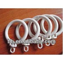 Белые пластиковые кольца
