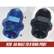 AN thread male fittings with O-Ring