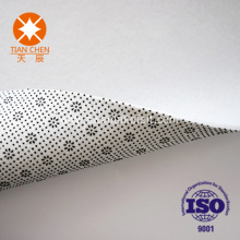 Needle-punched nonwoven fabric for carpet backing cloth