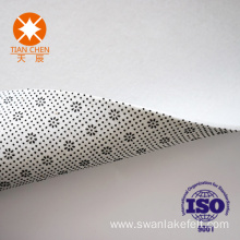 Big dot embossed nonwoven fabric For carpet