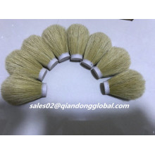 24mm White Boar Bristle Hair Knots