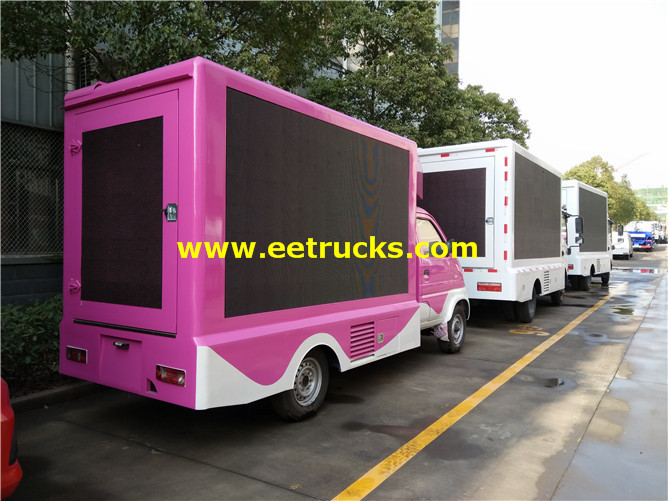 P4 LED Mobile Advertising Vehicles