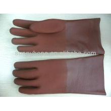 Gants ronds en PVC sablonneux
