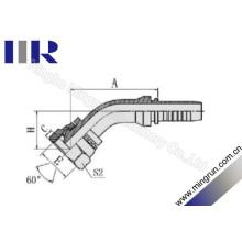 45 Grad Ellenbogen Bsp-weibliche gesenkgeschmierte Schlauchverbindung (22641)