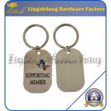 Keychain Supplier High Quatity Sin llavero de metal MOQ