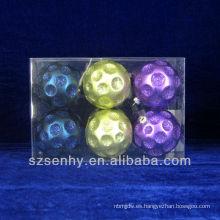 Nuevos ornamentos de la bola de la Navidad del diseño