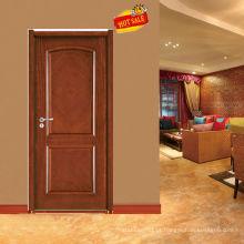 Escultura de projeto de porta de madeira teca de frame de madeira porta portas em madeira teca