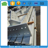 Easy installation hot dip galvanized Hsection steel structure frame