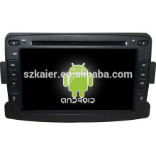 Glonass / GPS Android 4.4 Miroir-lien TPMS DVR voiture multimédia central pour Renault Duster / Logan / Sandero avec GPS / Bluetooth / TV / 3G