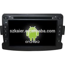 Glonass / GPS Android 4.4 espelho-link TPMS DVR carro multimídia central para Renault Duster / Logan / Sandero com GPS / Bluetooth / TV / 3G