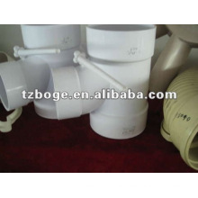 one cavity pvc tee mould