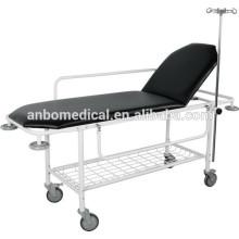 Carro de la camilla del hospital para la sala de operaciones polvo epoxy cubierto