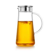 New Business Ideas Werbegeschenk Glas Wasserkrug mit Deckel