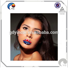 Hochwertige temporäre Tätowierung Aufkleber (Lippenstift-Serie)
