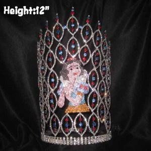 Wholesale Unique Crystal Snow White Princess Crowns