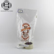 Sac d'emballage de pain imprimé en plastique pe de qualité alimentaire