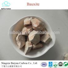 minerai de bauxite 60-88% contenu calciné mine de bauxite à vendre