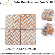 New Fashion Wooden Coffee Coaster Wholesale