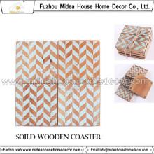 Новая Мода Деревянные Кофе Coaster Оптовая торговля