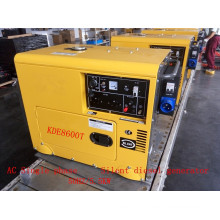 AC Single Phase 50Hz/230V Key Start Silent Diesel Generator with ATS for Home and Office Use