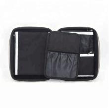 Glänzende graue Make-up Kosmetik Vanity EVA Case Box für Pinsel Set