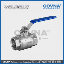 DN40 Ball Valve Handles Spring Return Ball Valve