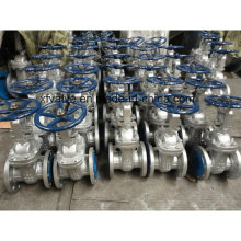 API600 150lb Cast Steel Wcb Flange End Gate Valve