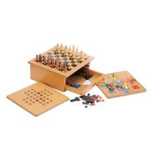 Juguetes de madera educativos juego de ajedrez (CB2359)
