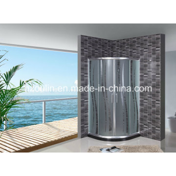 Acid Glass Shower Enclosure (AS-902 without tray)