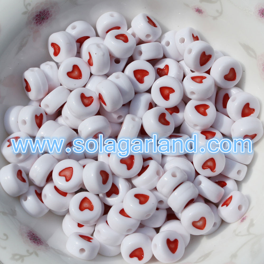 Coin Round Flat Spacer Beads
